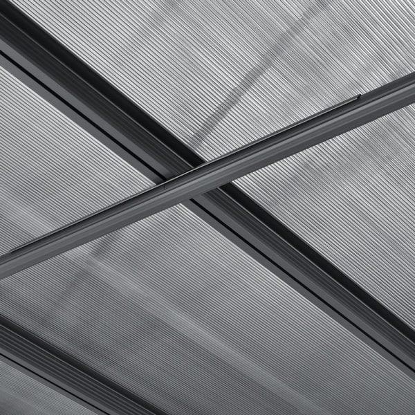 Carport 16' x 10' Curved Kingston Aluminium 5