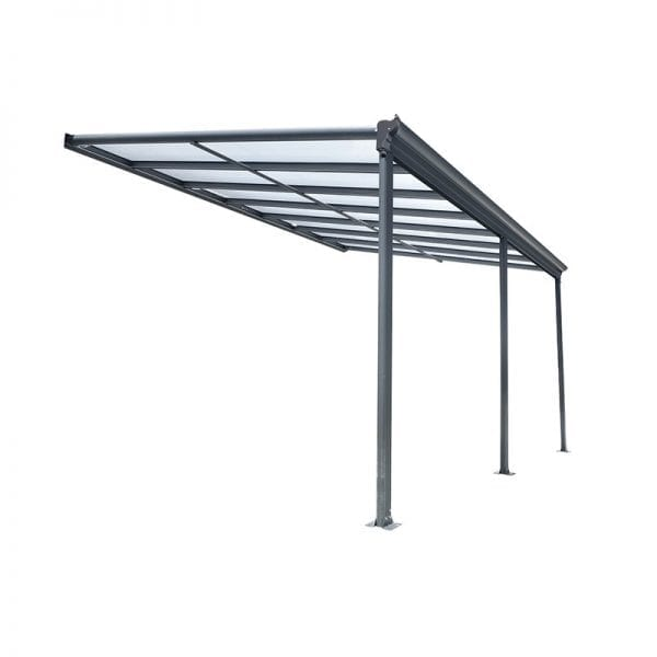 Carport 16x10 Lean To Patio Cover Kingston 1
