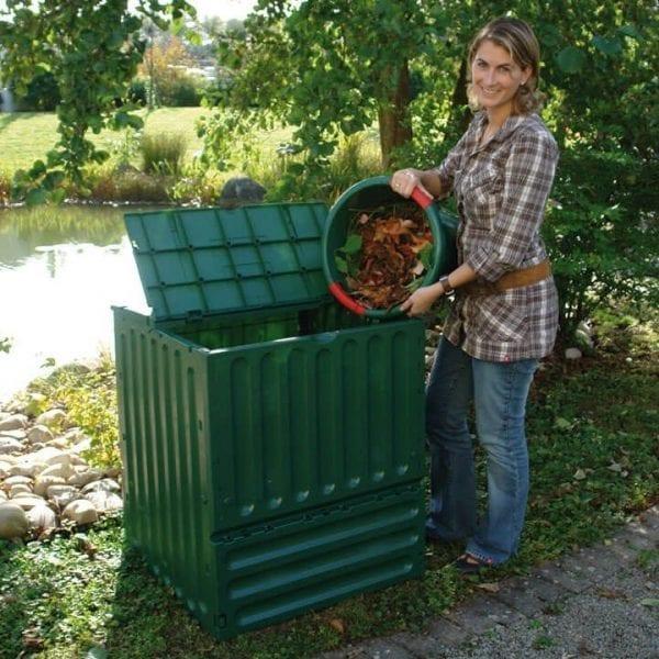 Composter - 600 Litre Metal Compost Bin