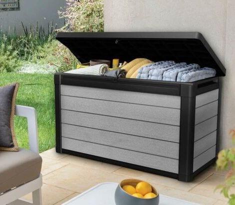 Denali Storage Box 150 - Keter Storage Box - In Garden