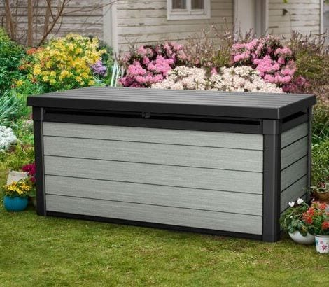 Denali Storage Box 150 - Keter Storage Box - In Garden