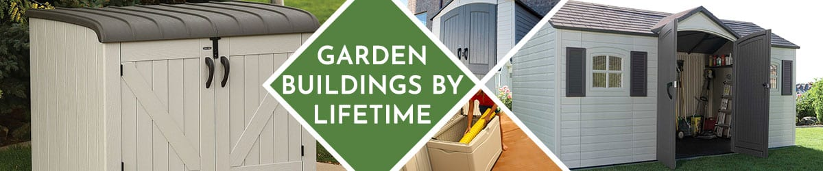Garden Buildings By Lifetime | Garden Storage Sheds