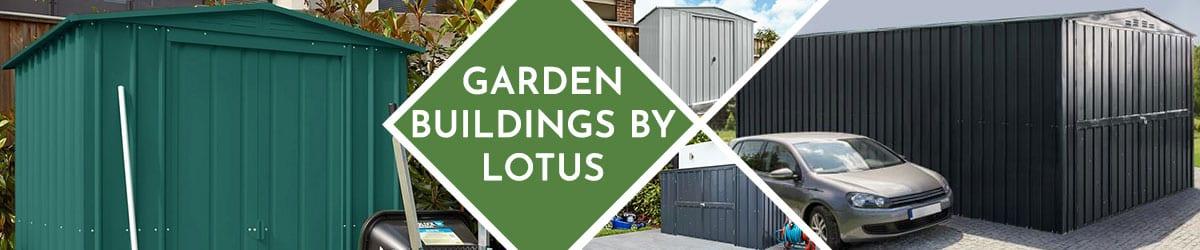 Lotus Metal Garden Buildings | Lotus Metal Sheds