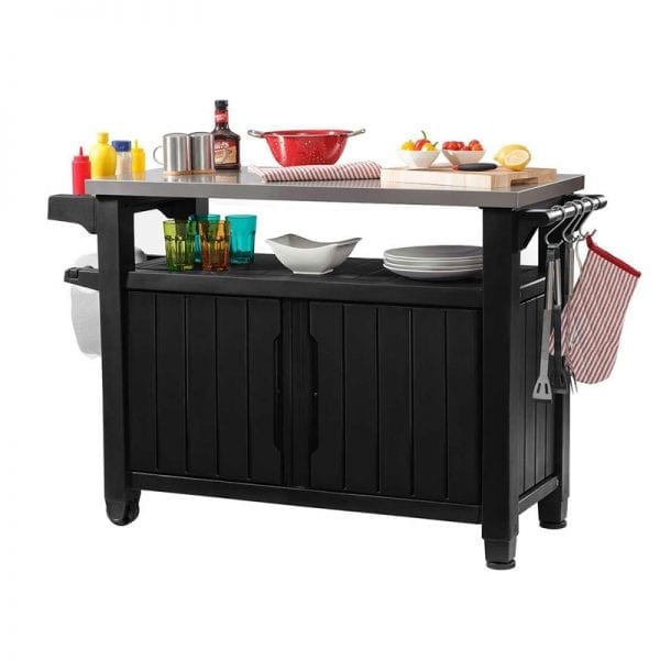 Keter BBQ Table Double