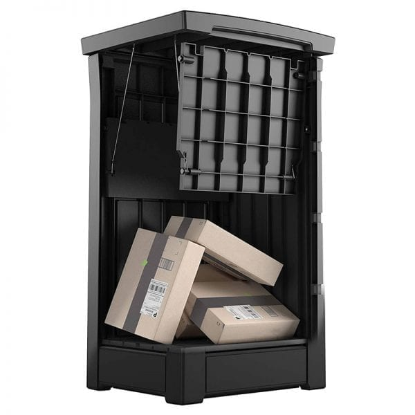 Keter Parcel Box - Inside View