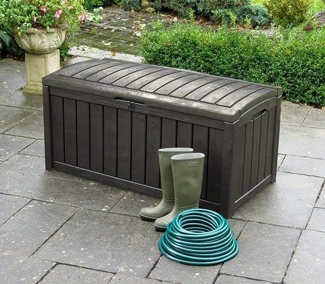 Keter Storage Box - Glenwood 390L - In Garden