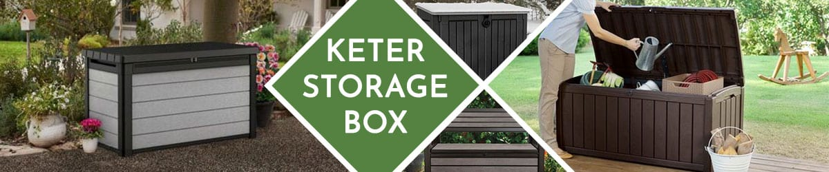 Keter Storage Box | Plastic Storage Box