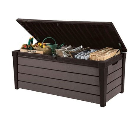 Keter Storage Box - Sherwood 270L - Open