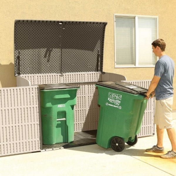 Lifetime 6'x3.5' Plastic Storage Box - Bin Store