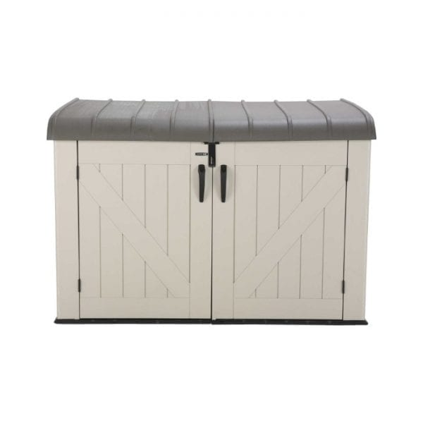 Lifetime 6'x3.5' Plastic Storage Box - Product Image 1