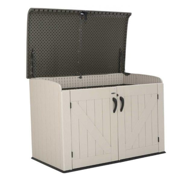 Lifetime 6'x3.5' Plastic Storage Box - Product Image 2