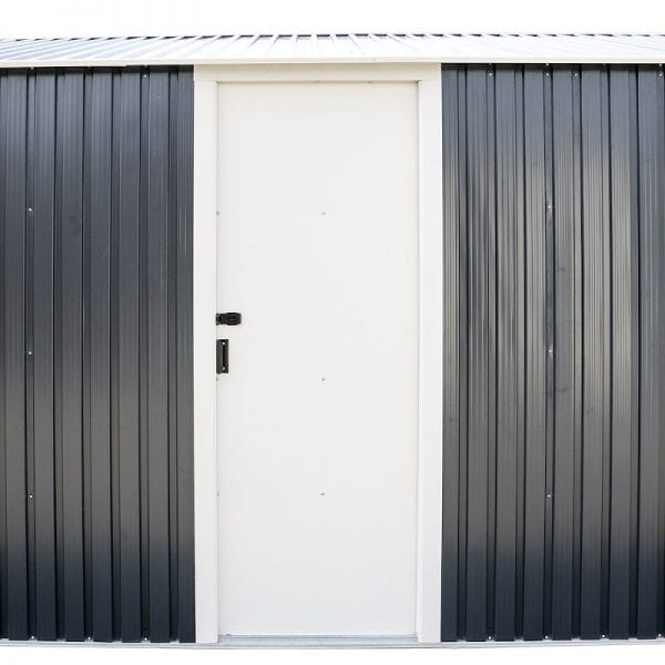 Metal Garage - Black Sapphire Garage - Access Door