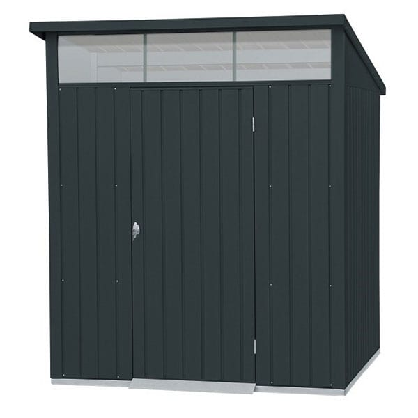 Metal Garden Shed Falcon 6'x5' - Front Closed