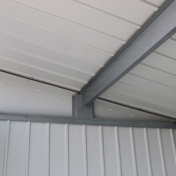 Metal Garden Shed Falcon 6'x5' - Roof Inside