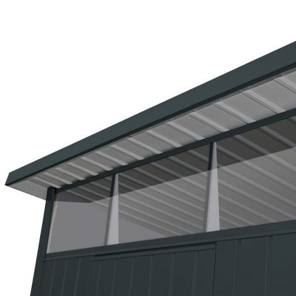 Metal Garden Shed Falcon 6'x5' - Windows