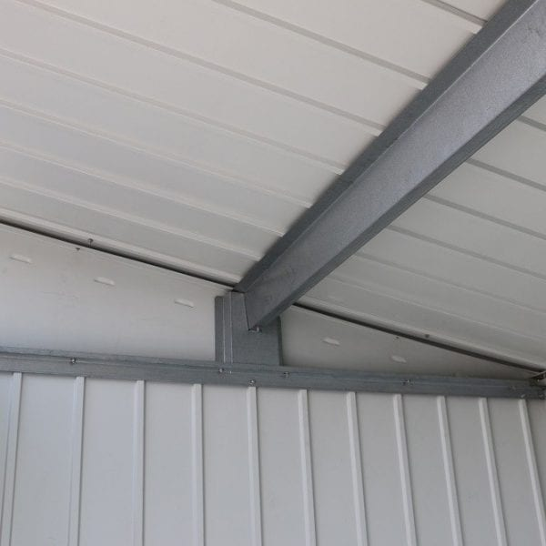 Metal Garden Shed Falcon 8'x6' Double - Roof Inside