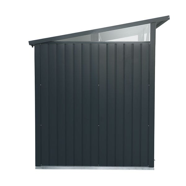 Metal Garden Shed Falcon 8'x6' Double - Side