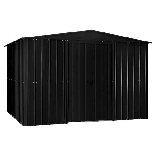 Metal Shed 10x7 - Black Lotus - Closed