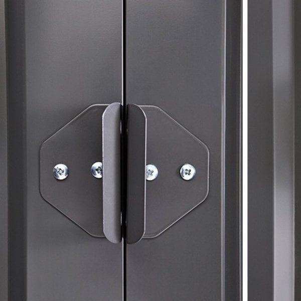 Metal Shed 6x4 - Black Lotus Apex - Door Handle