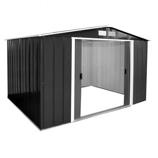 Metal Shed Black - 10x10 Sapphire - Product Image