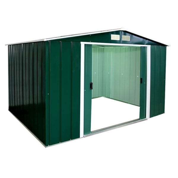 Metal Shed Green - 10x8 Sapphire - Product Image