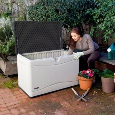Outdoor Storage Box - 300L In Use