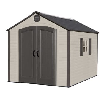 Outdoor Storage Shed Lifetime 8ft x 10ft -Product Image