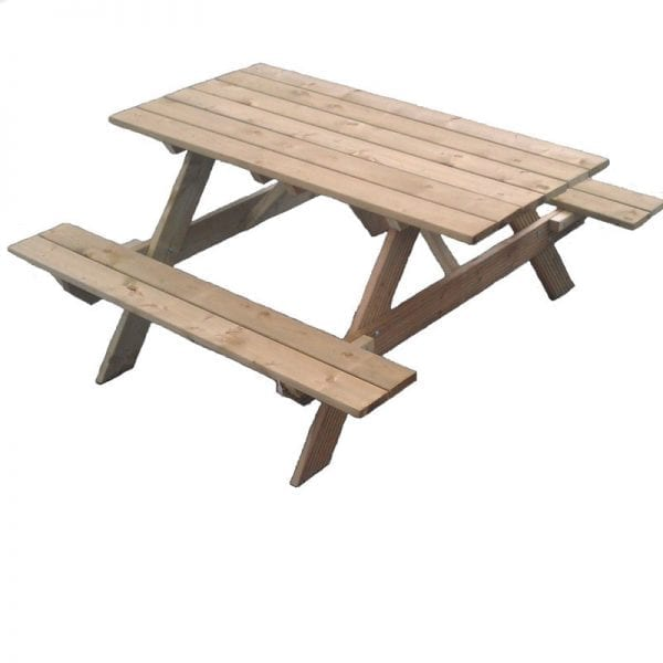 Picnic Table Pantheon White Background