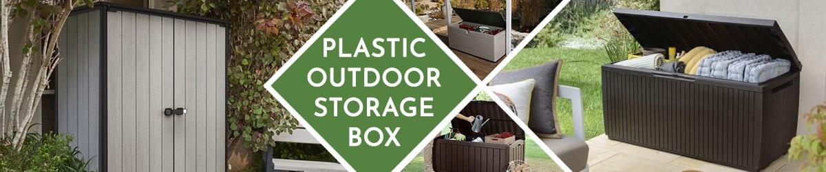 Plastic Outdoor Storage Box | Plastic Garden Storage Box