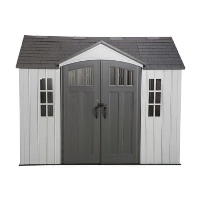 Plastic Outdoor Storage Shed Lifetime 10ft x 8ft - Product Image
