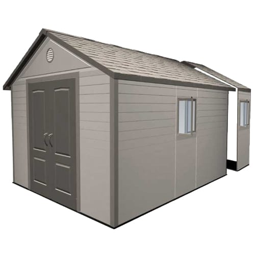Plastic Outdoor Storage Shed - Lifetime 11ft x16ft - Product Picture