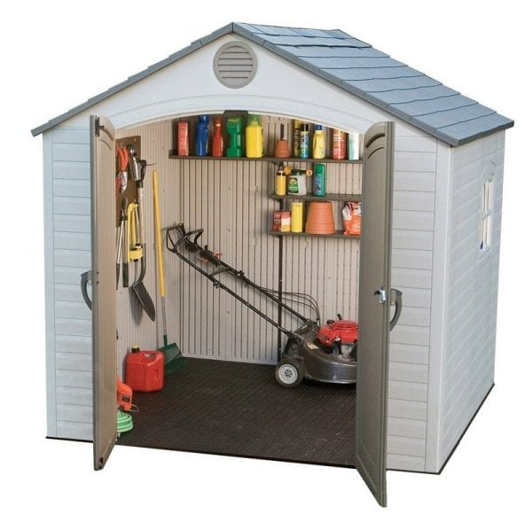 Plastic Outdoor Storage Shed Lifetime 8ft x 5ft - Product Image 5