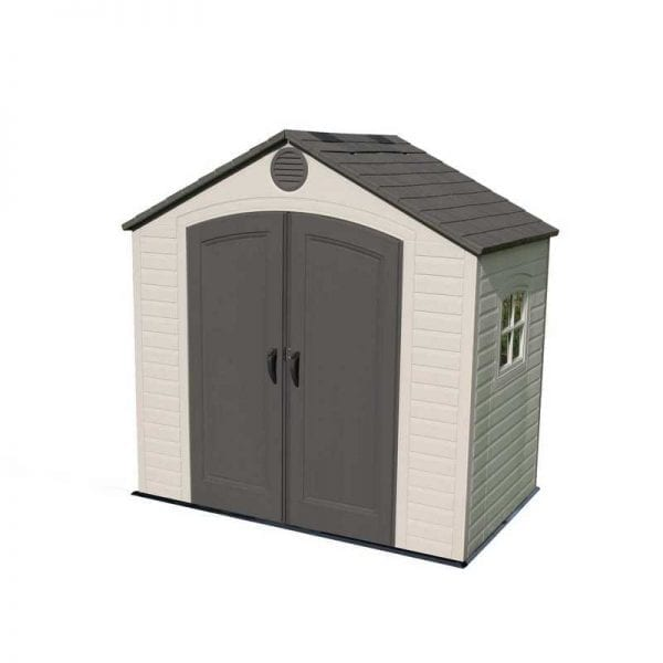 Plastic Outdoor Storage Shed Lifetime 8ft x 5ft - Product Image