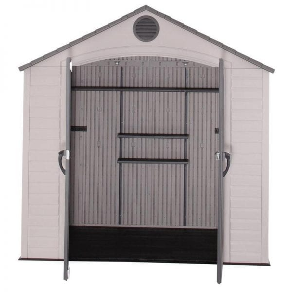 Plastic Outdoor Storage Shed Lifetime 8ft x 5ft - Product Image4