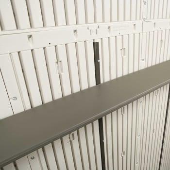 Plastic Outdoor Storage Shed Lifetime 8ft x 7.5ft - Large Shelf