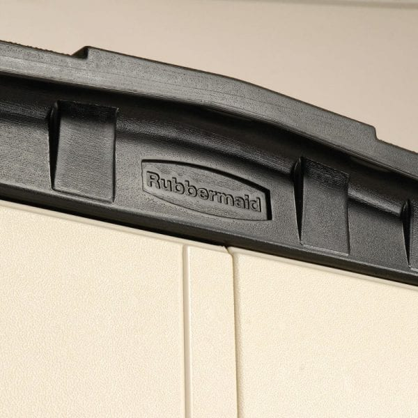 Plastic Shed 5'x2' - Rubbermaid 14