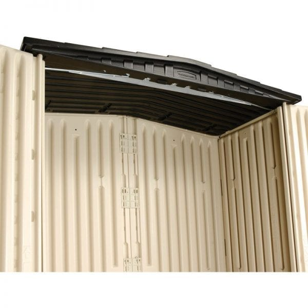 Plastic Shed 5'x2' - Rubbermaid 4