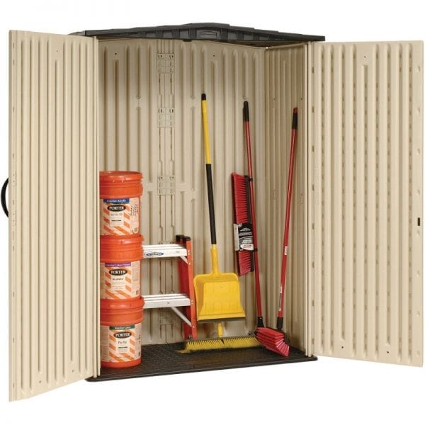 Plastic Shed 5'x2' - Rubbermaid 6