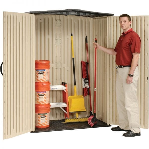 Plastic Shed 5'x2' - Rubbermaid 8