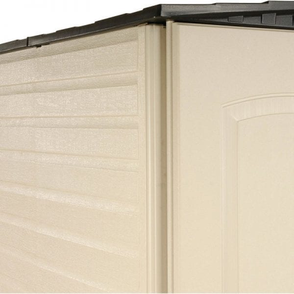 Plastic Shed 5'x4' - Rubbermaid 3
