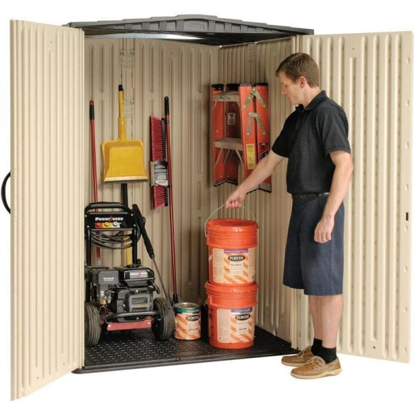 Plastic Shed 5'x4' - Rubbermaid 8