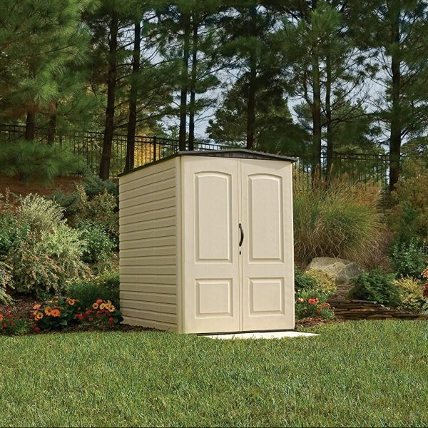 Plastic Shed 5'x4' - Rubbermaid 9