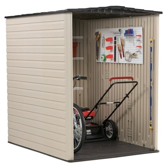 Plastic Shed 5'x6' - Rubbermaid 1