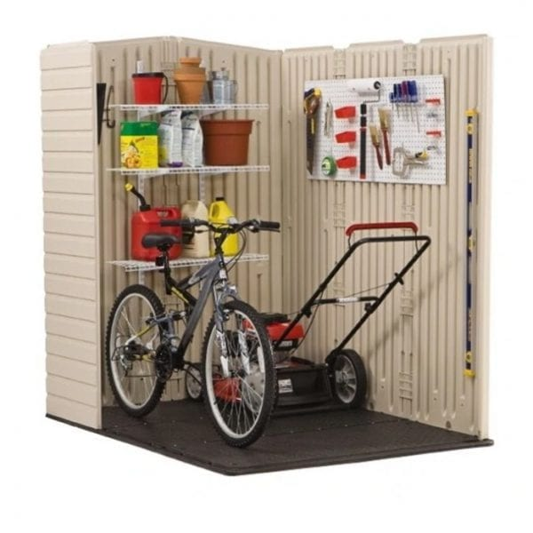 Plastic Shed 5'x6' - Rubbermaid 2