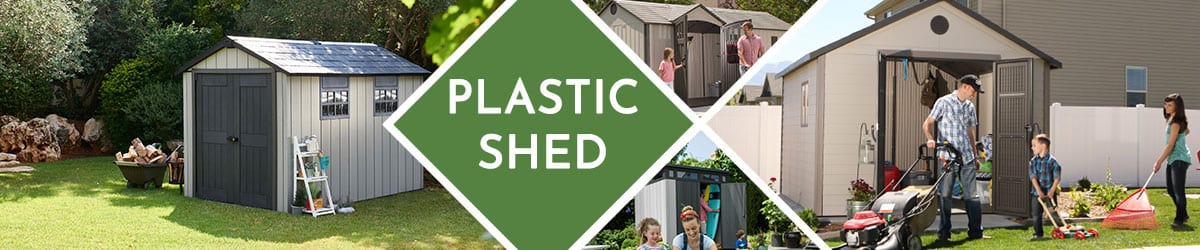 Plastic Shed | Plastic Garden Shed