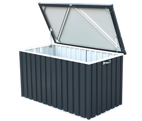 Sapphire 1.3 Anthracite Metal Storage Box (4 x 2) -2
