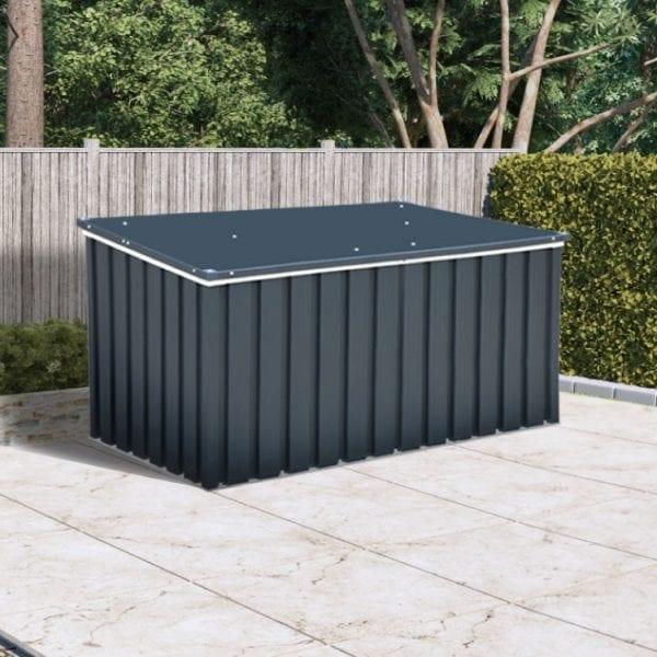 Sapphire 1.3 Anthracite Metal Storage Box (4 x 2) -3