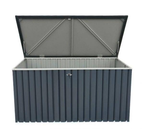 Sapphire 1.3 Anthracite Metal Storage Box (4 x 2) -4