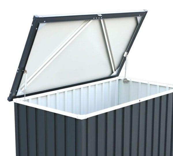 Sapphire 1.3 Anthracite Metal Storage Box (4 x 2) -5