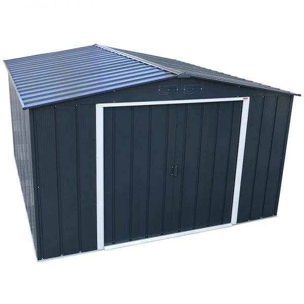 Sapphire 10x10 Metal Shed - Product Image